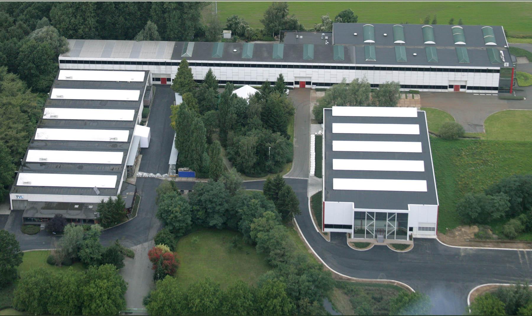 Konstruktiewerkhuizen Van Landuyt moved to Zele, extra warehouse space for TVL
