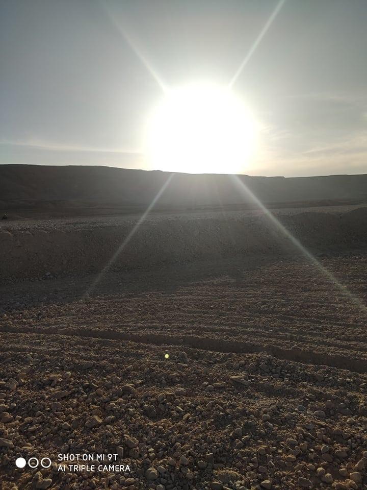 Een stukje Egyptische woestijn vruchtbaar maken